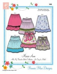Merri-Ann - Easy Skirt patterns - #149