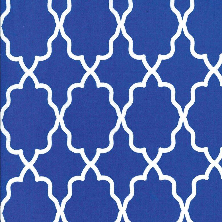 Moroccan Lattice in Cobalt - Royal Blue - CX5702