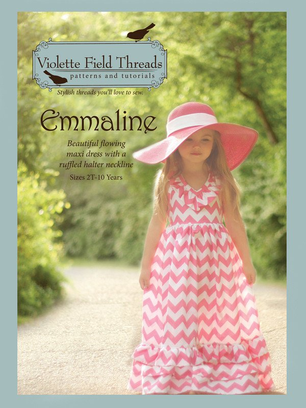 Emmaline Dress - Sizes 2 to 10 - Violette Field Threads