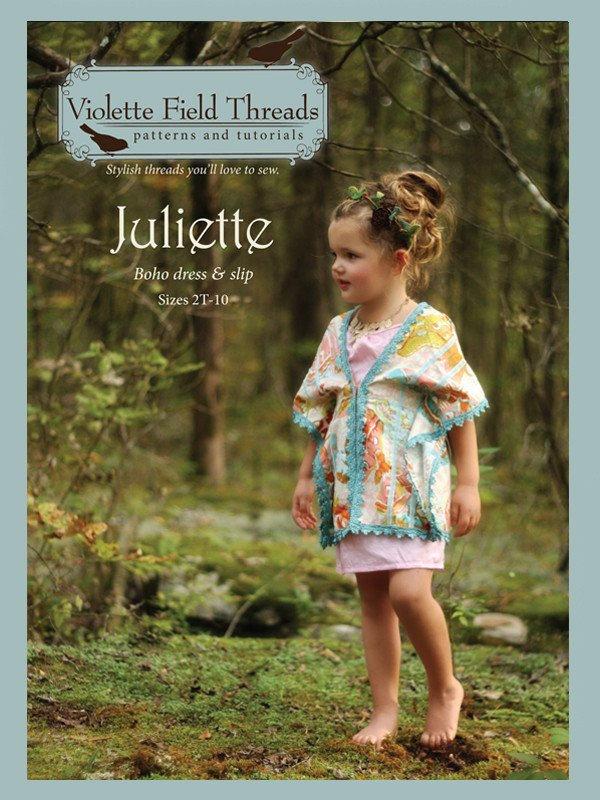 Juliette Dress - Sizes 2 to 10 - Violette Field Threads