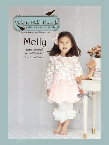 Molly - Reversible Jacket - Sizes 12 Months to 10 - Violette Field Threads