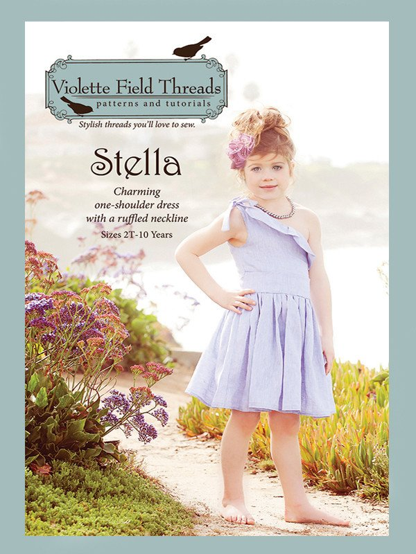Stella Dress - Sizes 2 to 10 - Violette Field Threads