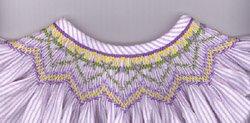 Cross-Eyed Cricket - Smocking Plate - Violets for Viola