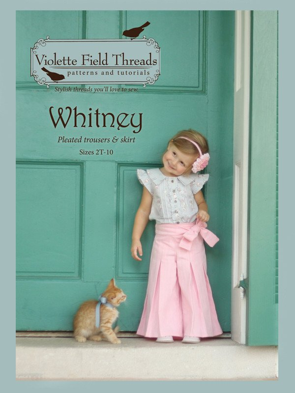 Whitney Pants & Skirt - Sizes 2 to 10 - Violette Field Threads