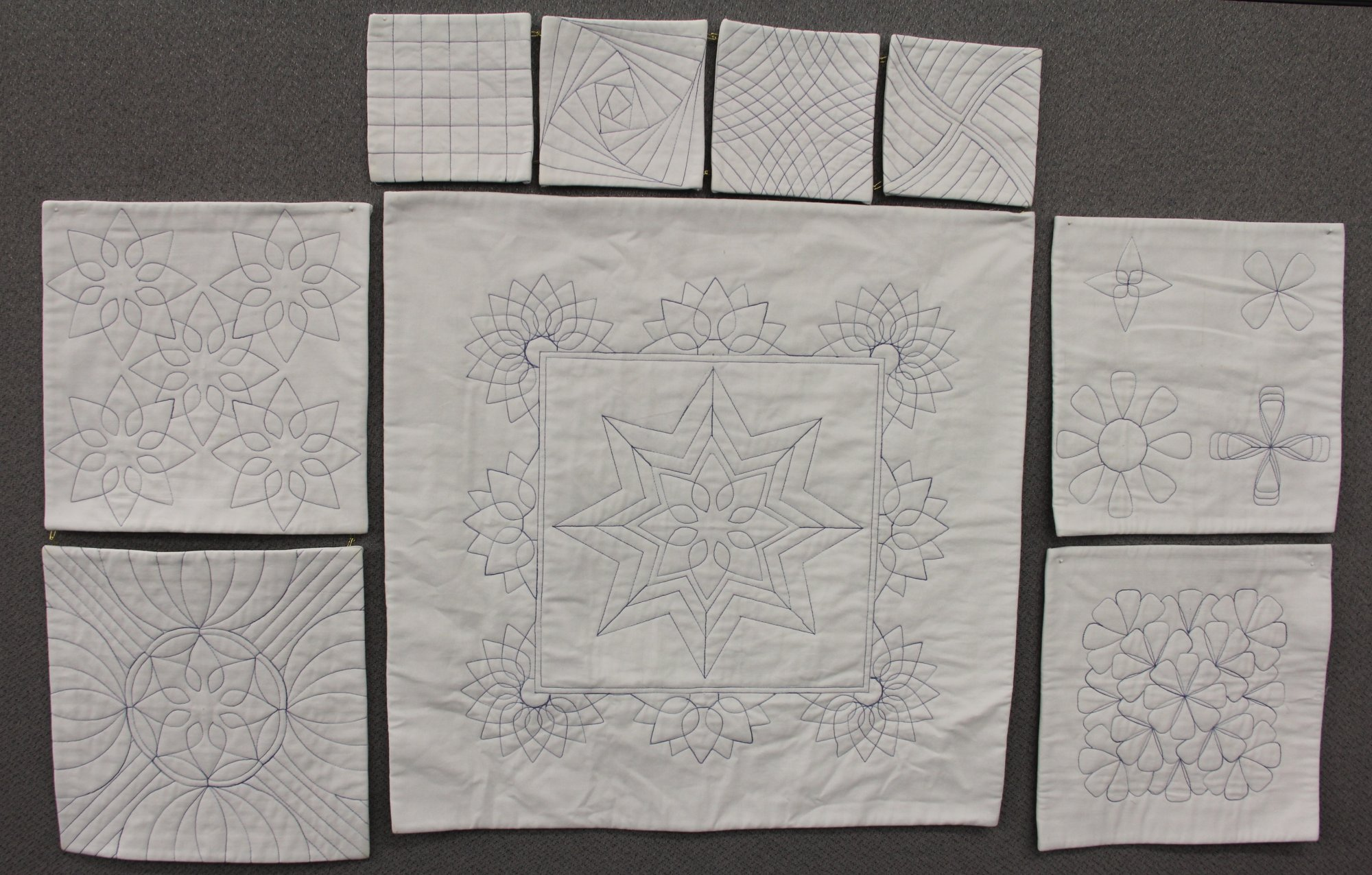 Westalee Ruler Quilt as You Go Sampler Club