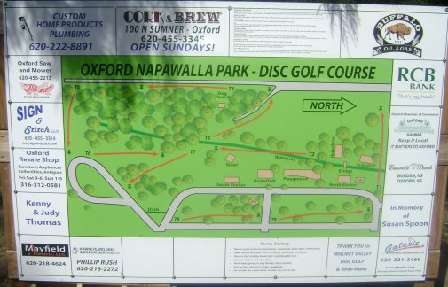 Napawalla Park Disc Golf Course