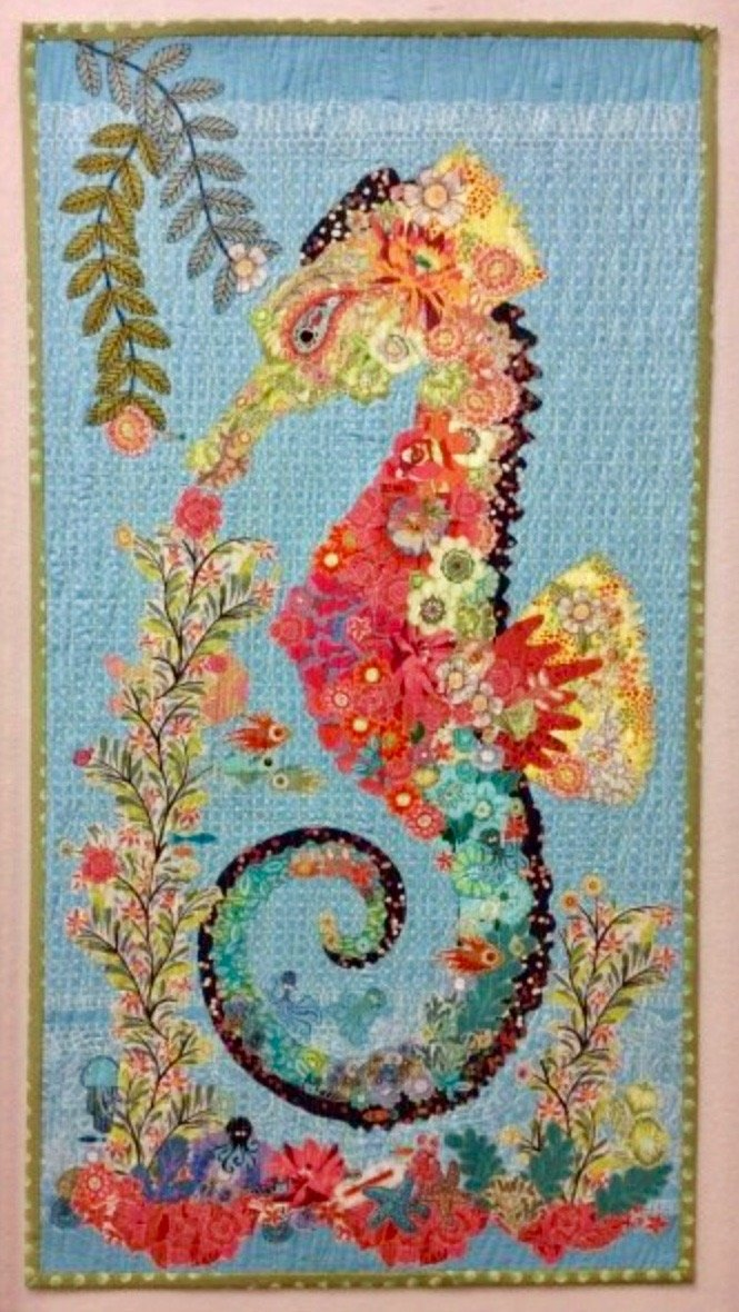 Ebba Collage Seahorse