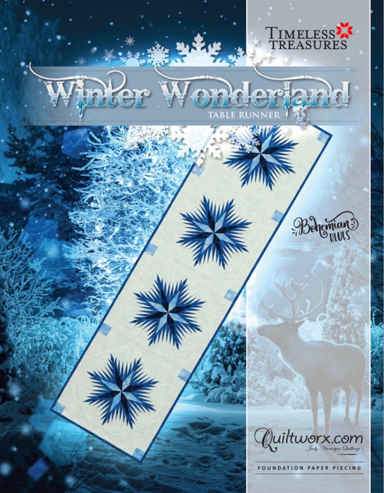 Winter Wonderland Table Runner 20 x 74
