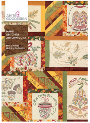 Anita Goodesign Hand Stitched AutumnQuilt Embroidery Designs