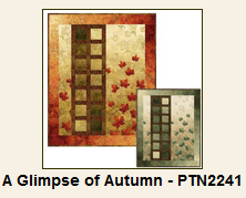 A Glimpse of Autumn Pattern feasturing Northcott's Stonehenge Maplewood