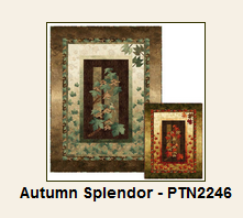 Autumn Splendor Pattern feasturing Northcott's Stonehenge Maplewood