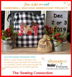 Kimberbell Embroidery Workshop Dec 2019