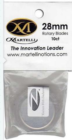 Martelli 28mm Rotary Blades (10 Ct)