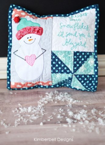 Kimberbell Snowflake Pillow Workshop
