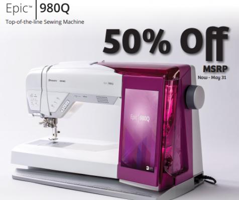 50% off MSRP New EPIC 980Q