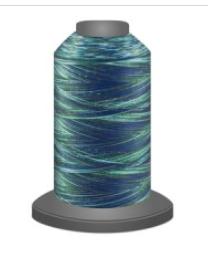 Affinity Poly Varigated Thread 2750m Mediterranean