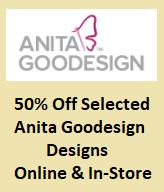 50% off Selected Anita Goodesign Designs