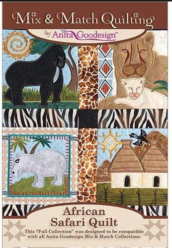 Anita Goodesign African Quilt Safari