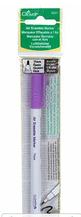 Air Eraseable Marker Thick Purple