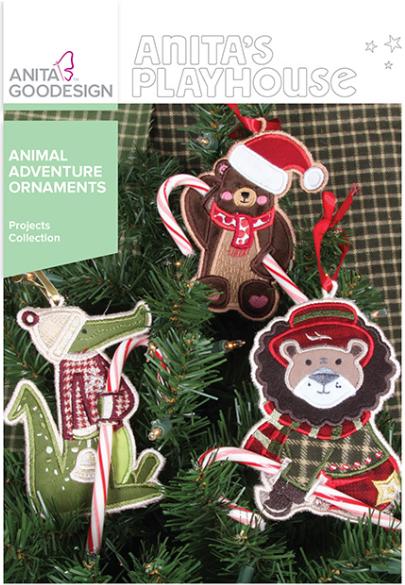 Anita Goodesign Animal Adventure Ornaments