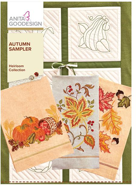 Anita Goodesign Autumn Sampler