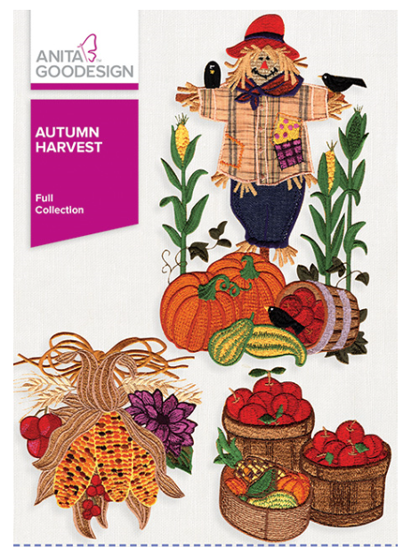 Anita Goodesign Autumn Harvest