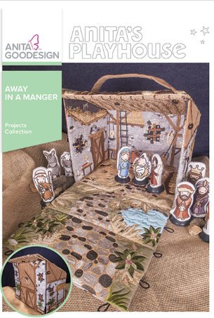 Anita Goodesign Away in a Manger Projects Collection