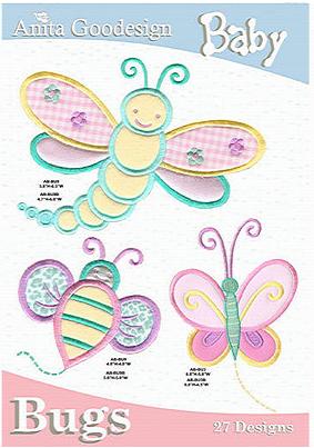 Anita Goodesign Baby Bugs