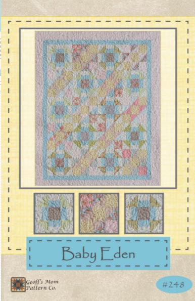 Baby Eden Quilt Pattern 47 x 56