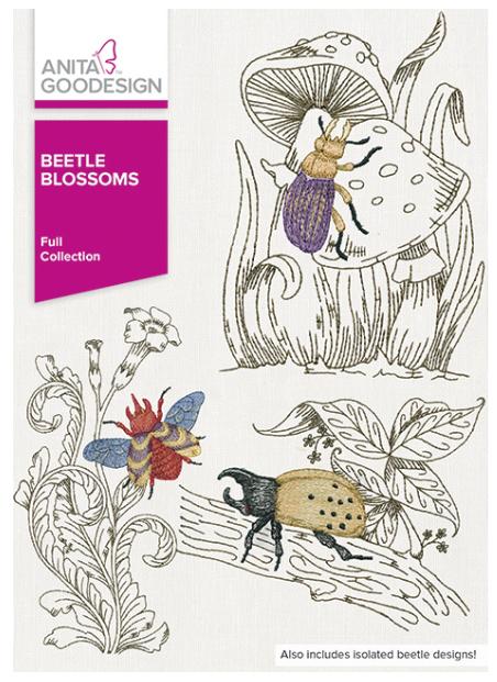 Anita Goodesign Beetle Blossoms