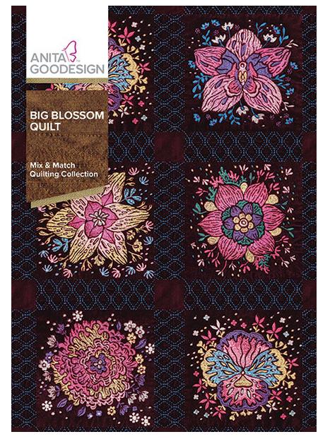 Anita Goodesign Big Blossom Embroidery Designs