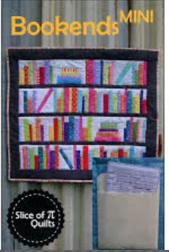 Bookends Mini Quilt Pattern by Slice of PI Quilts