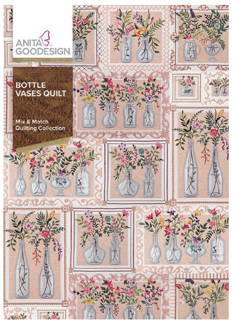 Anita Goodesign Bottle Vases Quilt Embroidery Designs