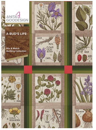Anita Goodesign A Bud's Life Embroidery Designs