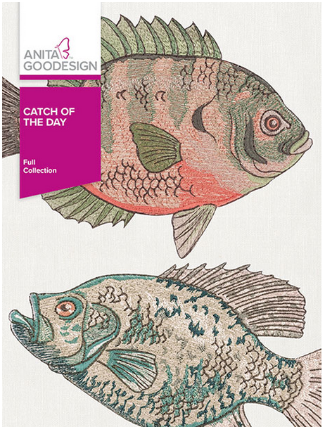 Anita Goodesign Catch of the Day Embroidery Designs