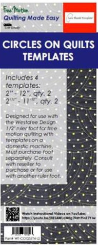 Circles on Quilts  Low Shank