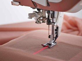 Adjustable Laser Sewing Guidance