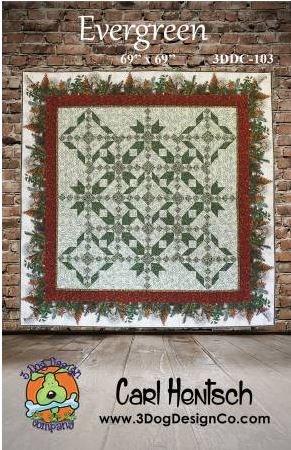Evergreen Quilt Pattern by Carl Hentsch
