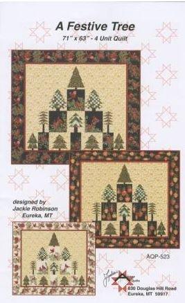 A Festive Tree Quilt Pattern