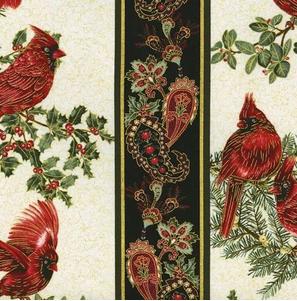 A Festive Season by Benartex 100% Cotton Fabric Style 2642M Color 07