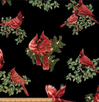 A Festive Season by Benartex 100% Cotton Fabric Style 2644M Color 12