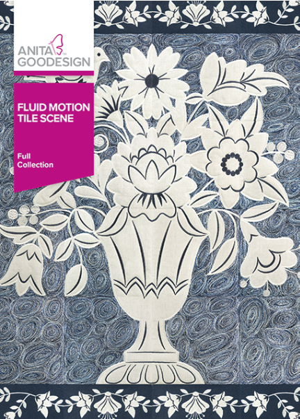 Anita Goodesign Fluid Motion Tile Scene Embroidery Designs