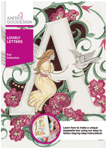 Anita Goodesign Lovely Letters Embroidery Designs
