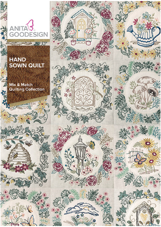 Anita Goodesign Hand Sown Quilt Embroidery Design