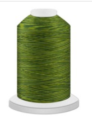 Harmony Cotton Varigated Thread 2750m/3000yds Pesto 14071