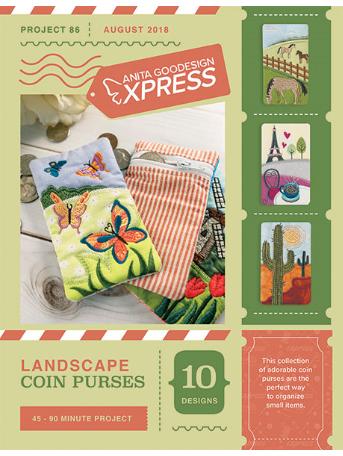 Anita Goodesign Landscape Coin Purses Embroidery Designs