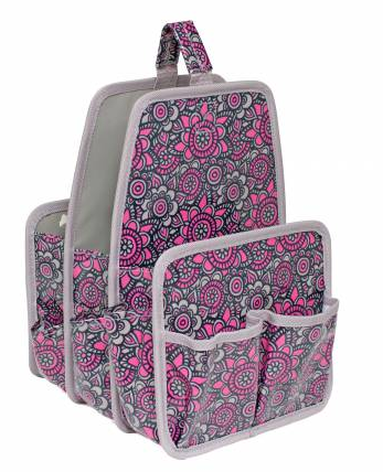 Makers Large Caddy Grey/Pink
