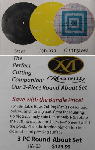 Martelli 3-Piece Round About Set