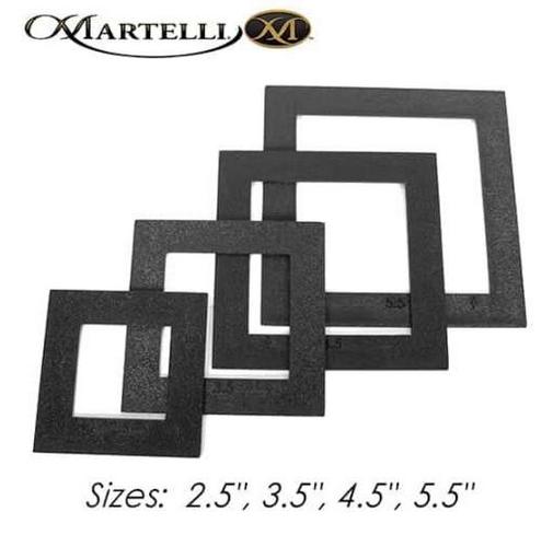 Martelli No-Slip Templates & Fussy Cut Windows