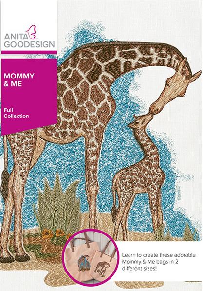 Anita Goodesign Bedside Holder Print Embroidery Design